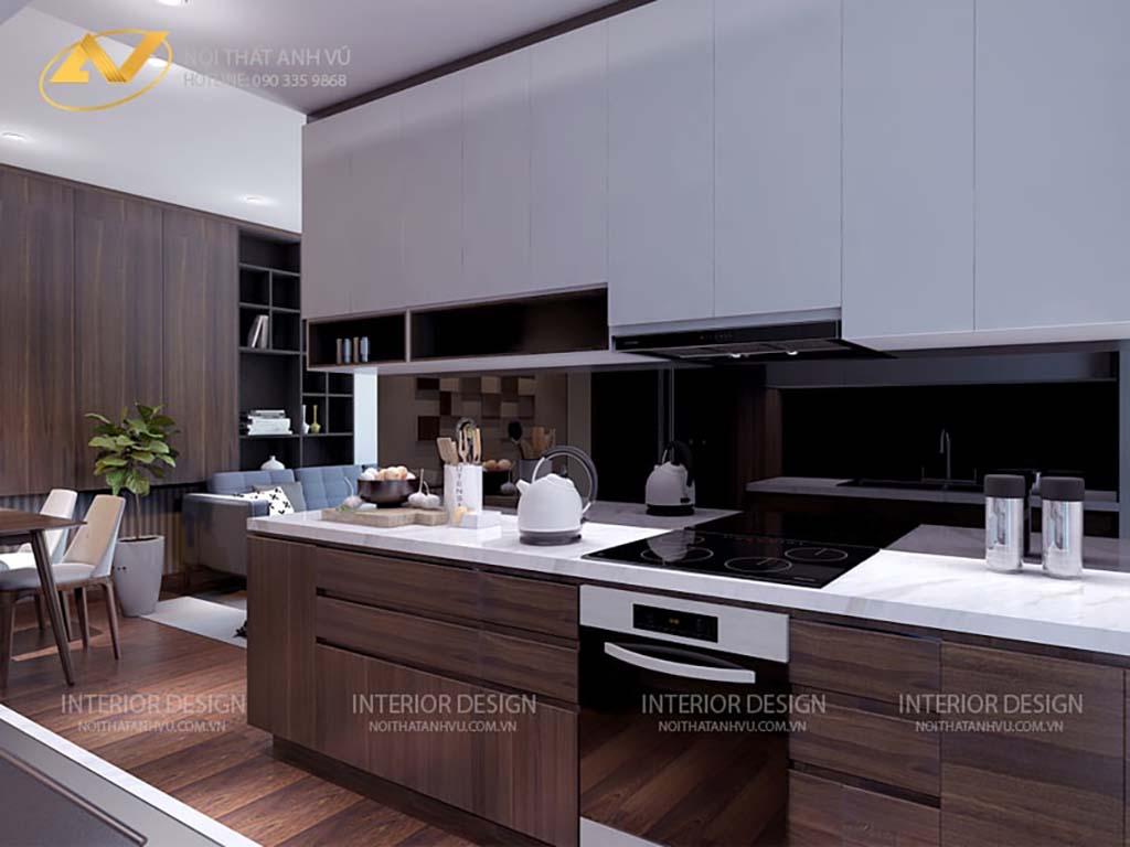 Thiết kế nội thất chung cư anh Đạt 5