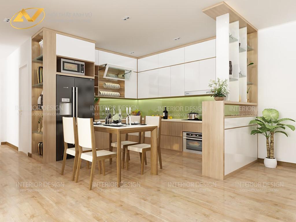 Thiết kế nội thất chung cư chị Huệ 3