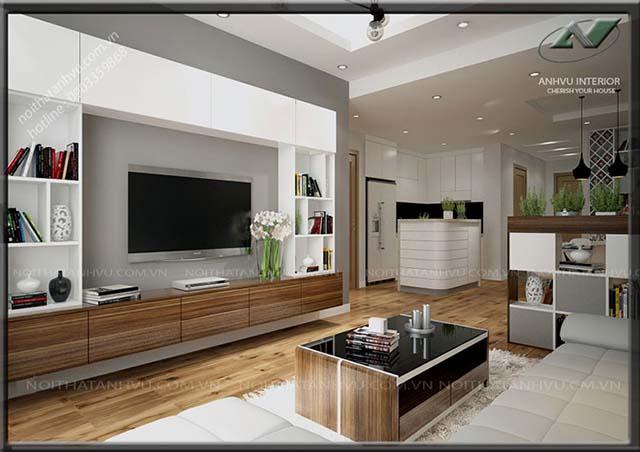 Hoàn thiện nội thất chung cư 3