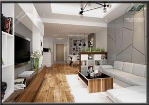 Hoàn thiện nội thất chung cư 4