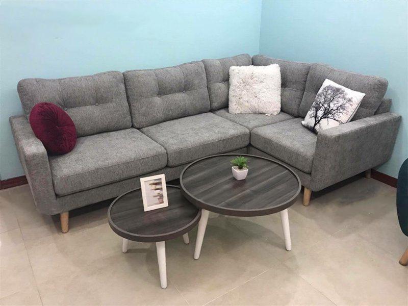 Một số mẫu sofa nỉ đẹp, hiện đại nhất