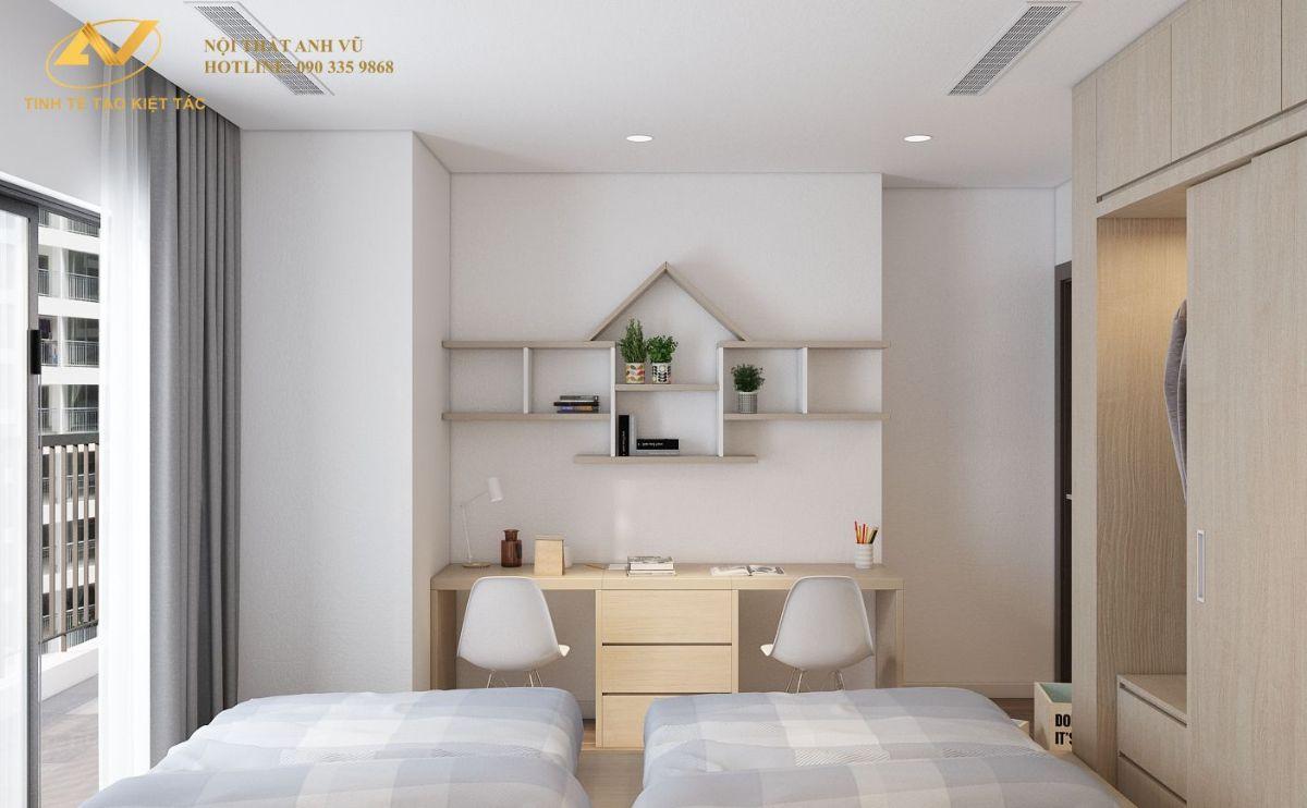 Phòng ngủ baby chung cư 130m2 Anh Hoài 5