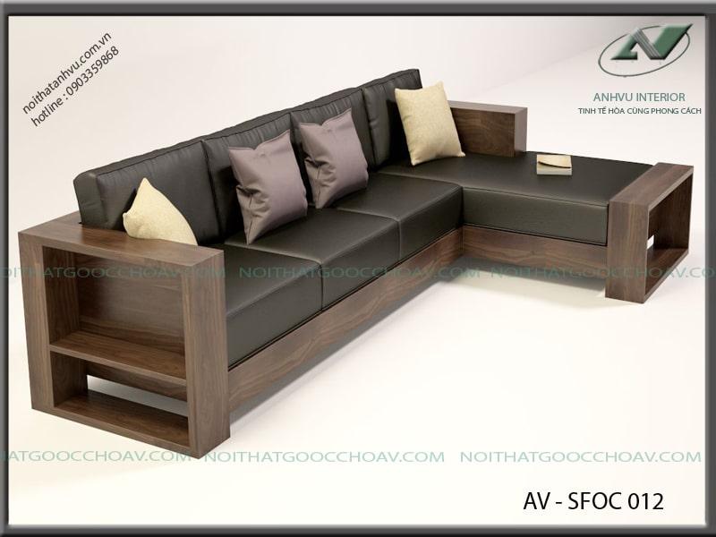 sofa phòng khách chữ L 3