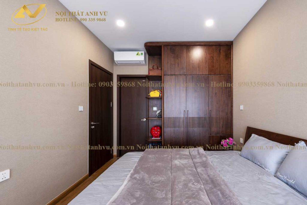 Thi công nội thất chung cư đẹp Mr Phước Gamuda 12