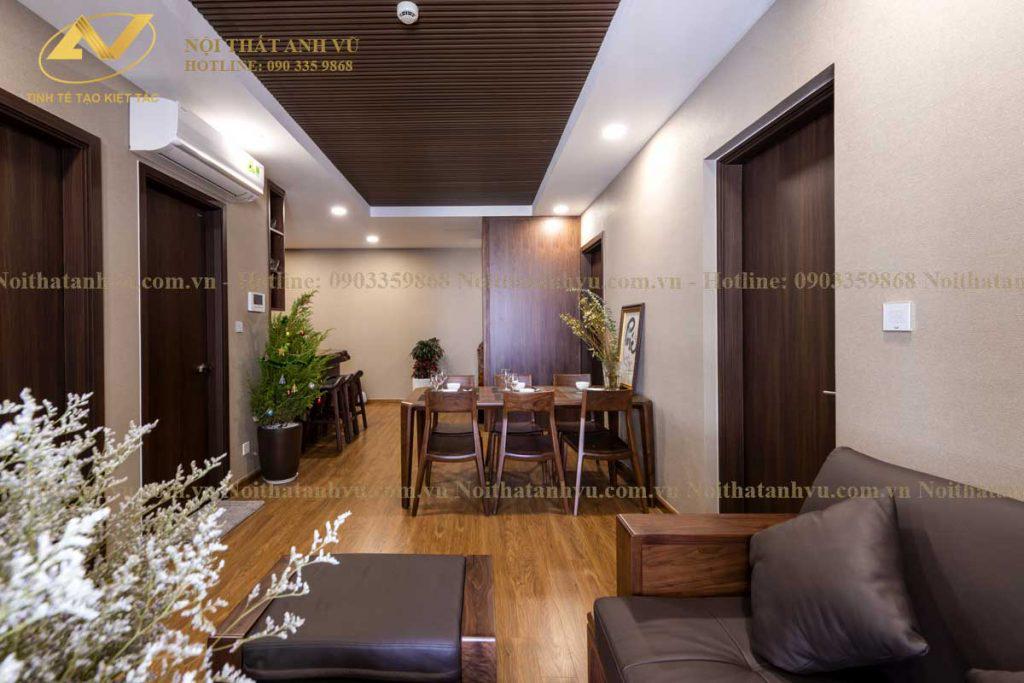 Thi công nội thất chung cư đẹp Mr Phước Gamuda 9