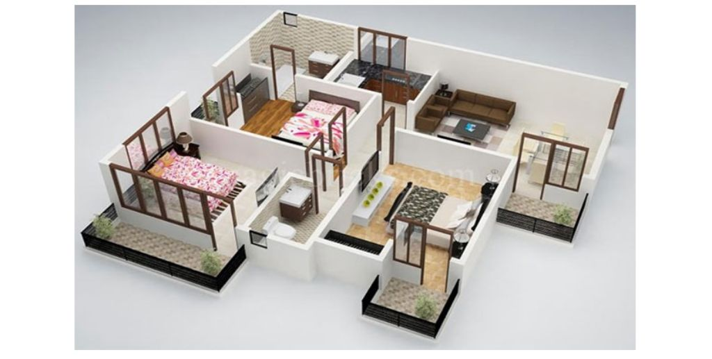 Thiết kế căn hộ phong cách trẻ trung hiện đại