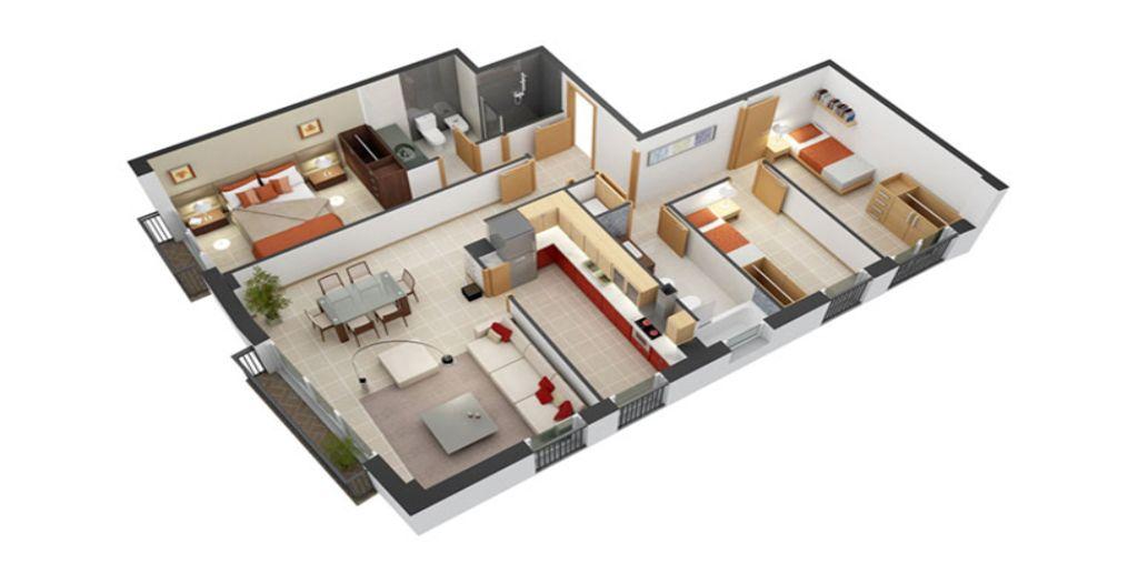 Căn hộ chung cư theo phong cách Scandinavian