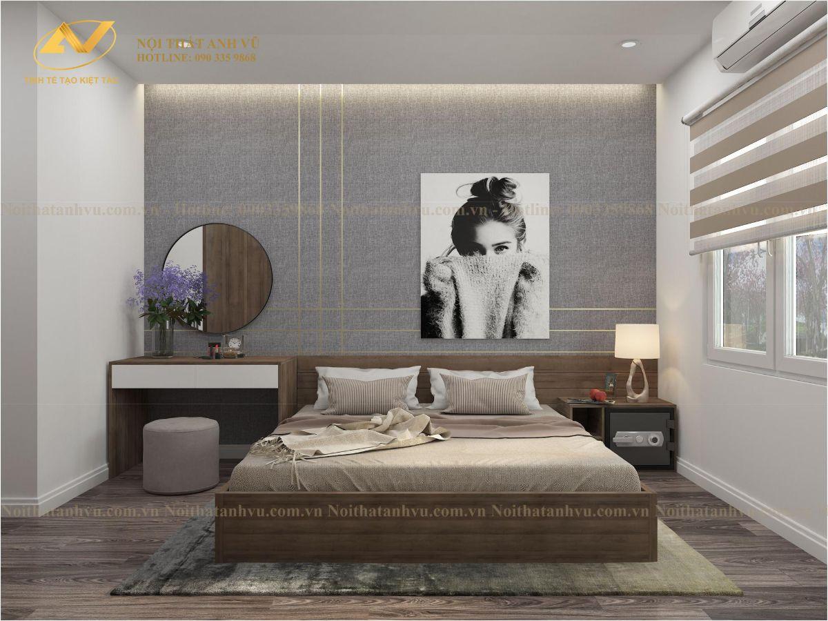 Thiết kế nội thất chung cư Anh Kiên Eurowindown 6