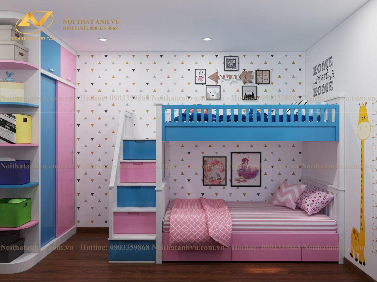 Thiết kế nội thất chung cư Anh Mạnh Homeland 11