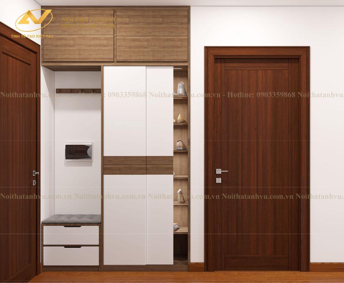 Thiết kế nội thất chung cư Anh Mạnh Homeland 5