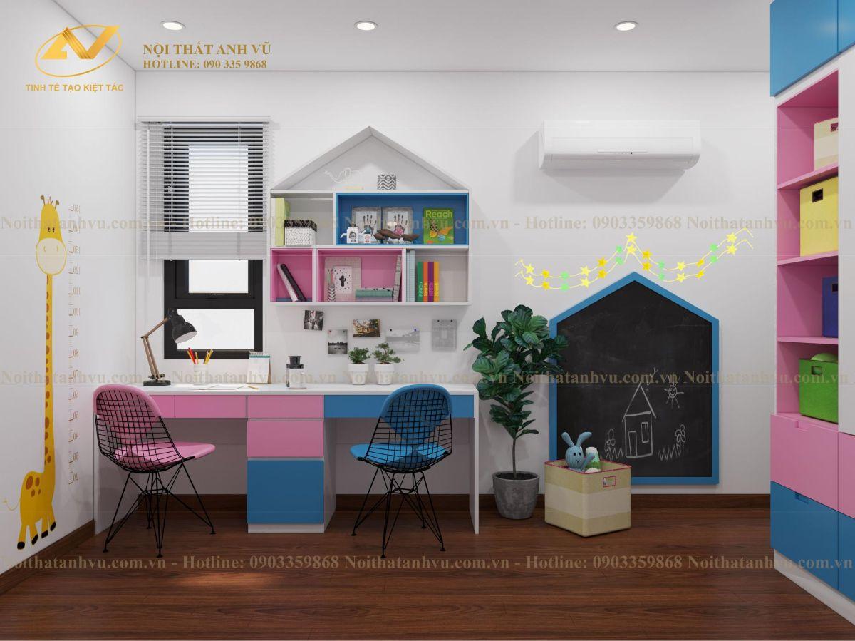 Thiết kế nội thất chung cư Anh Mạnh Homeland 9