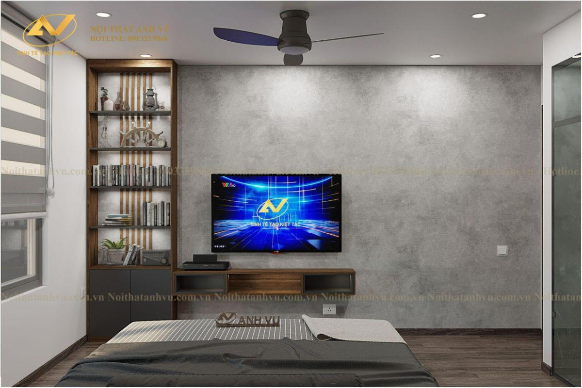 Thiết kế nội thất chung cư chị Thủy ở Ciputra 10