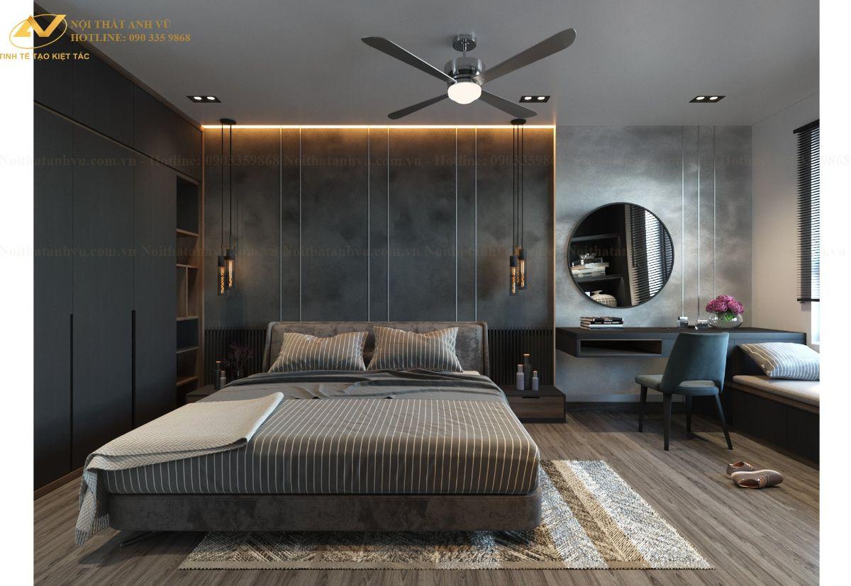 Thiết kế nội thất chung cư ngoại giao đoàn Anh Ngọc 10