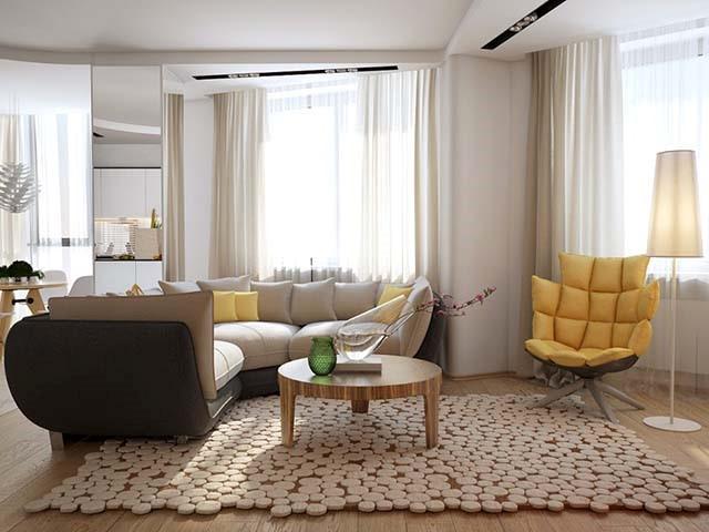 thiết kế nội thất hiện đại nội thất anh vũ 9
