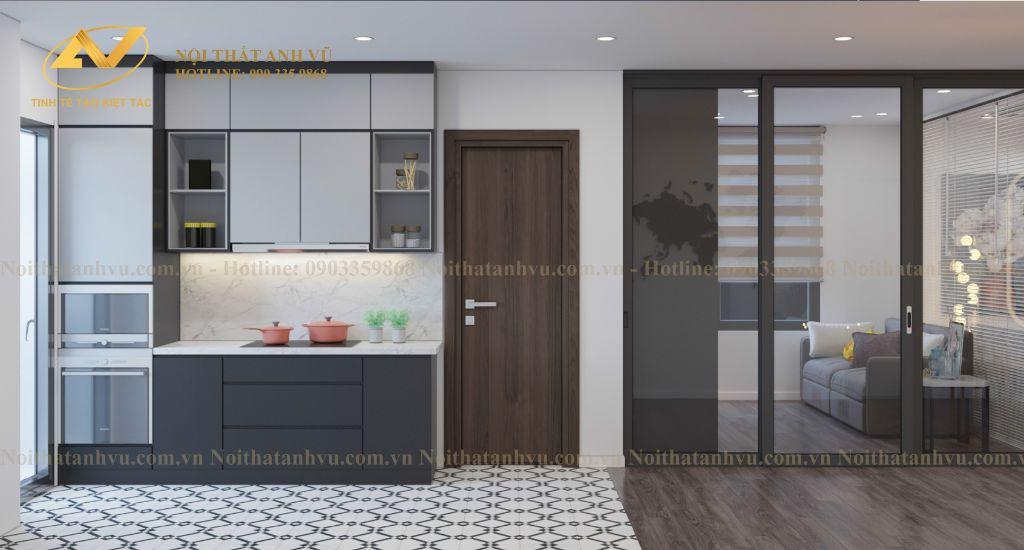 thiết kế nội thất chung cư Mrs Thủy Ciputra 6