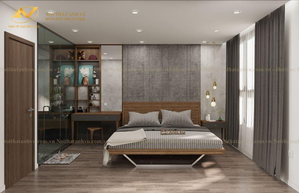 thiết kế nội thất chung cư Mrs Thủy Ciputra 8