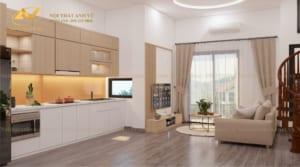 thiết kế nội thất chung cư nhà anh Tuấn Anh Ecopark 2