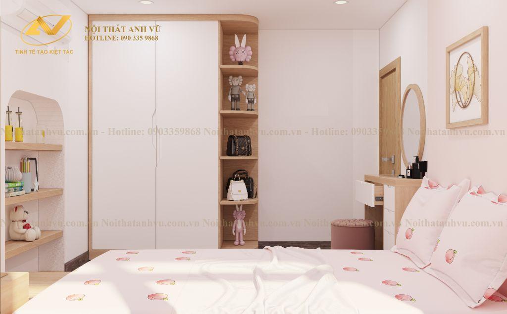 thiết kế nội thất chung cư nhà anh Tuấn Anh Ecopark 5