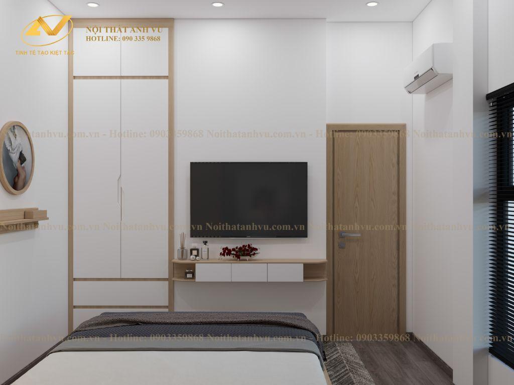 thiết kế nội thất chung cư nhà anh Tuấn Anh Ecopark 8