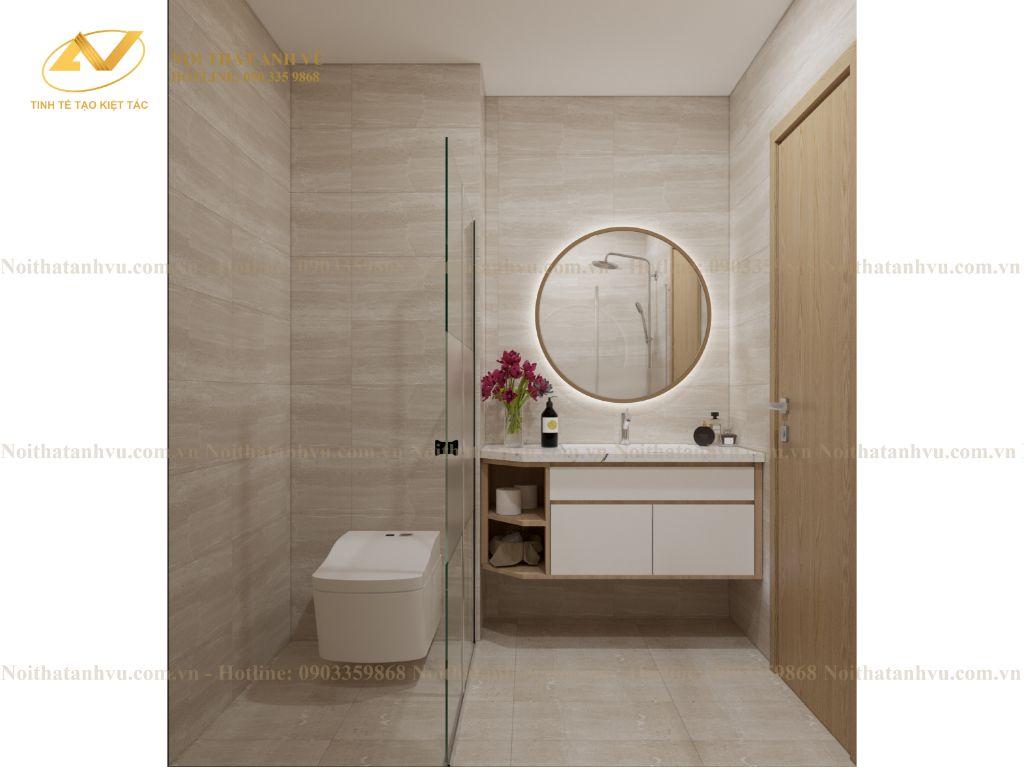 thiết kế nội thất chung cư nhà anh Tuấn Anh Ecopark 9