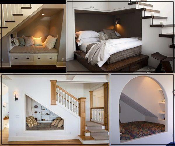 gầm cầu thang làm phòng ngủ