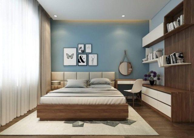 trang trí phòng ngủ bằng tranh nghệ thuật