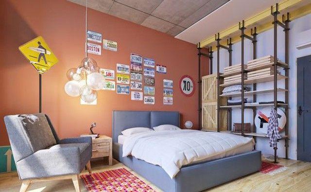 Thêm màu sắc, họa tiết trong trang trí phòng ngủ