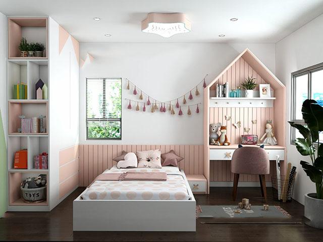 phòng ngủ đẹp cho bé gái 5