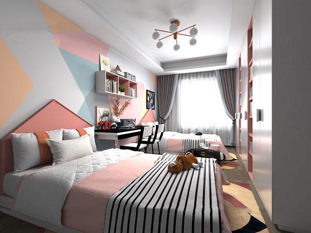 phòng ngủ đẹp cho bé gái 6