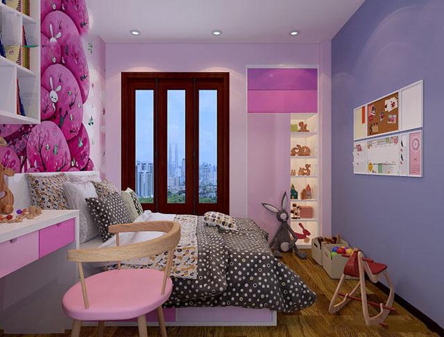 phòng ngủ đẹp cho bé gái 8