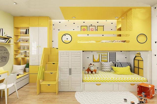phòng ngủ đẹp cho bé gái 9