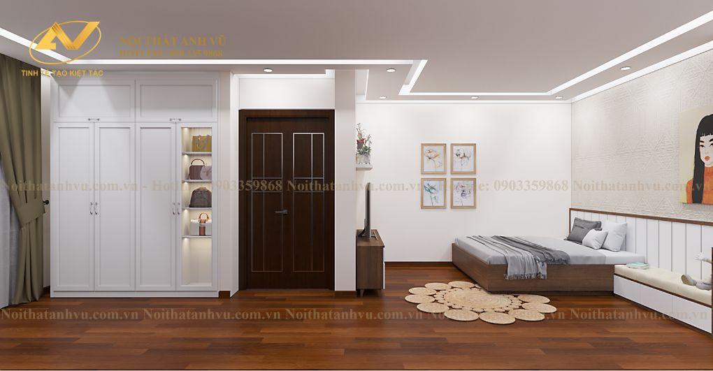 thiết kế nội thất biệt thự mr Dũng - BT8 Việt Hưng 2