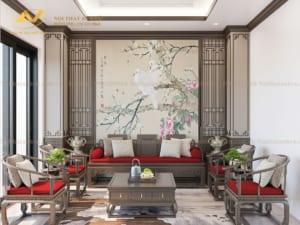 Thiết kế nội thất biệt thự Mr Hòa Hoàng Như Tiếp 5
