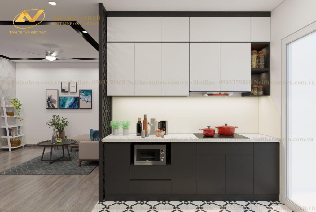 Thiết kế nội thất chung cư Mr Thành - Eurowindown Đông Trù 1