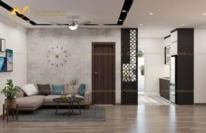 Thiết kế nội thất chung cư Mr Thành - Eurowindown Đông Trù 5