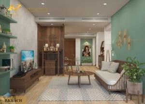 Thiết kế nội thất chung cư Mrs Vân - Sun Grand City Ancora 6