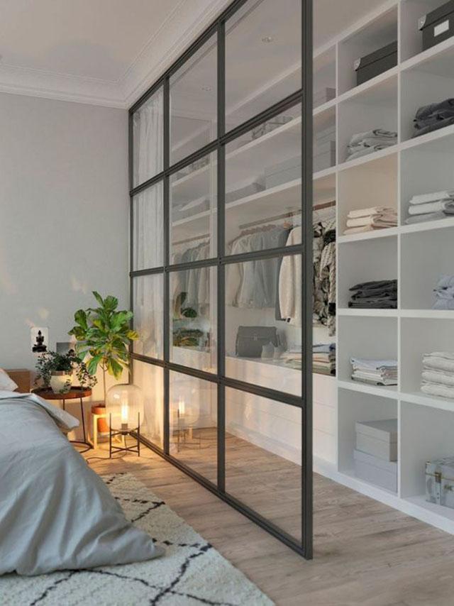 vách ngăn phòng ngủ đẹp 1