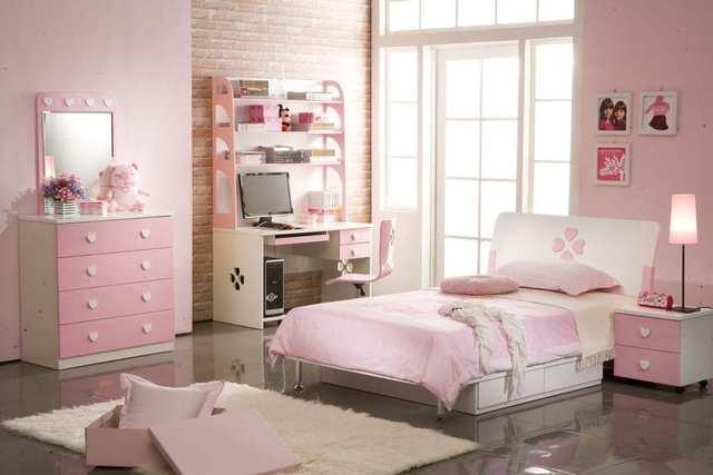 phòng ngủ cho bé gái 15 tuổi 1