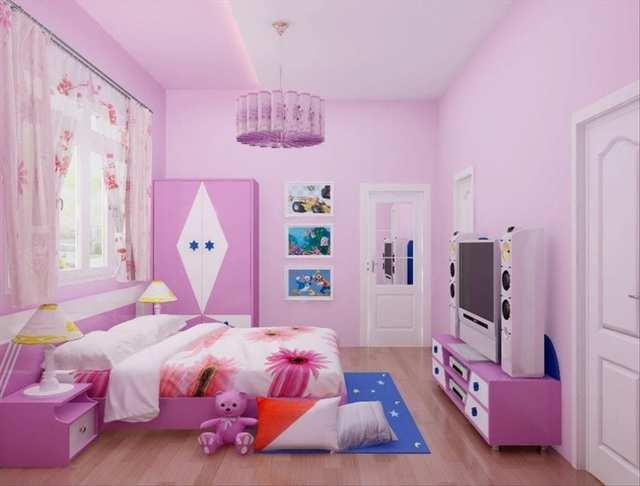 phòng ngủ cho bé gái 15 tuổi 4
