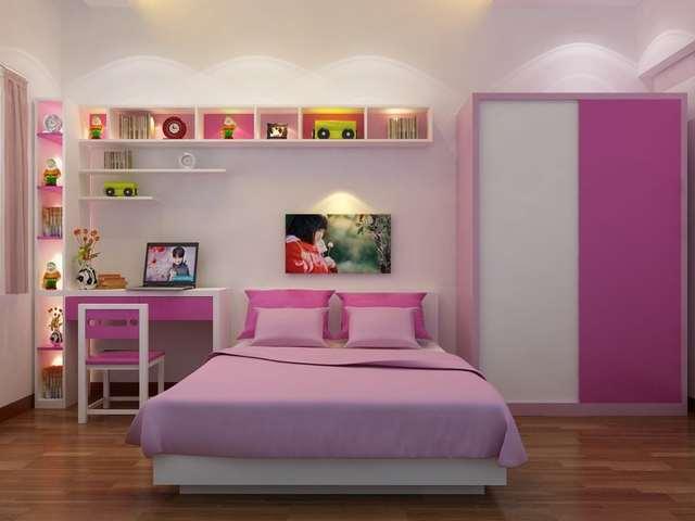 phòng ngủ cho bé gái 15 tuổi 6