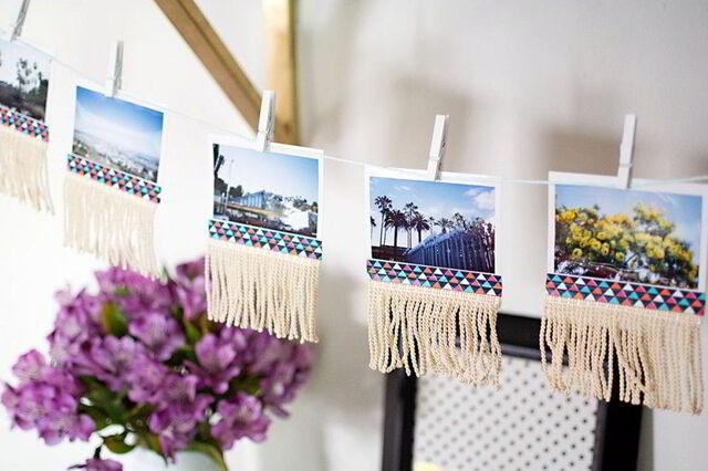 treo những bức ảnh đẹp quanh nơi làm việc