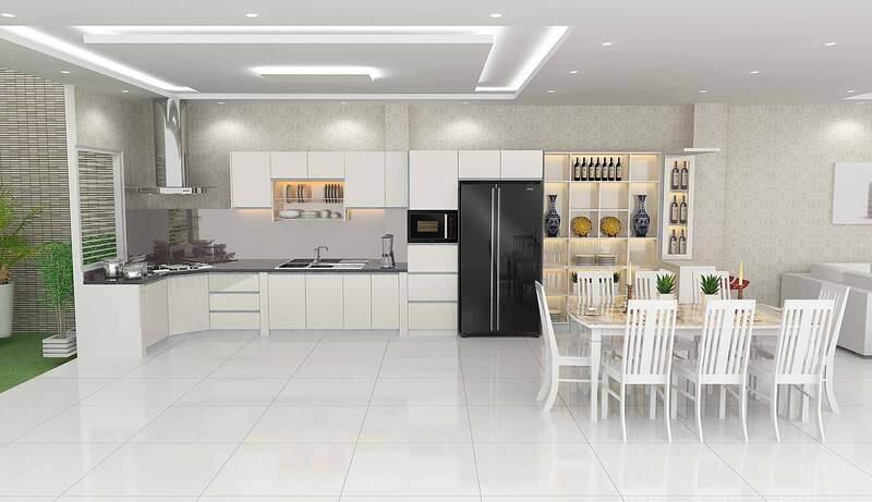 Thi công nội thất nhà bếp1