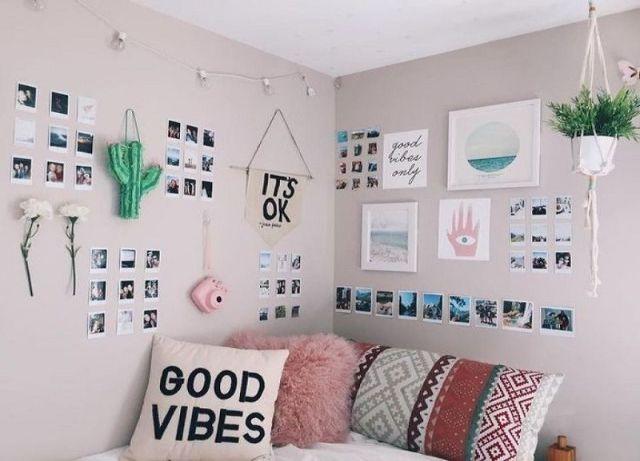 trang trí phòng ngủ bằng đồ handmade 13