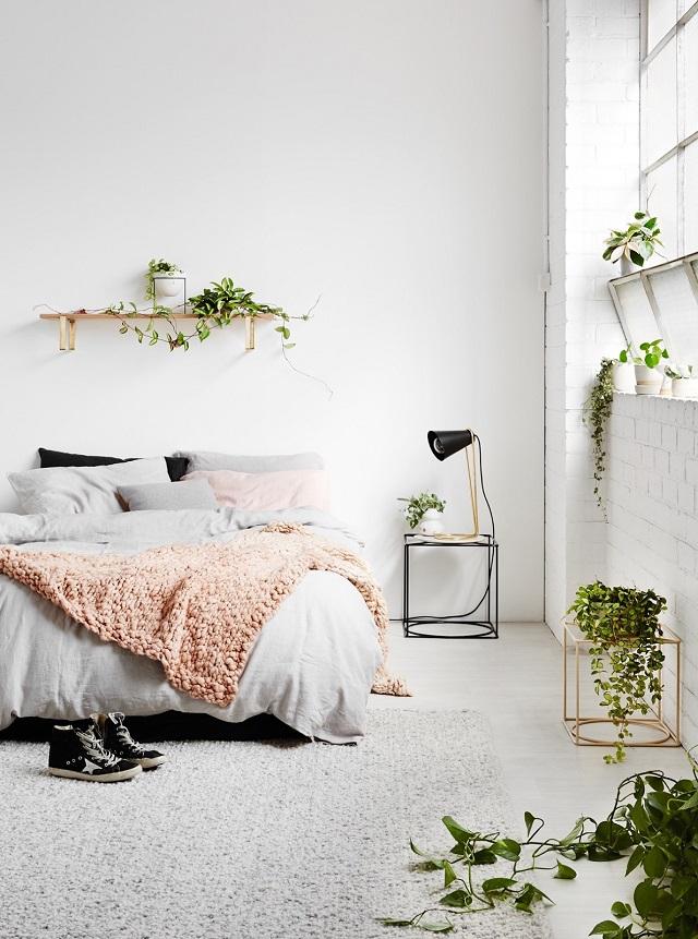 trang trí phòng ngủ bằng đồ handmade 14