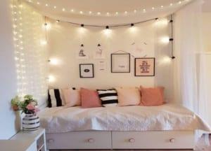 trang trí phòng ngủ bằng đồ handmade 5