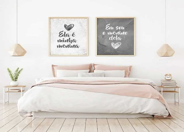 trang trí phòng ngủ bằng đồ handmade 9
