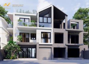 Thiết kế kiến trúc biệt thự Mr Nam 4