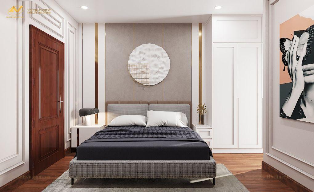 Thiết kế nội thất chung cư Mr Việt – Trung Kính 4