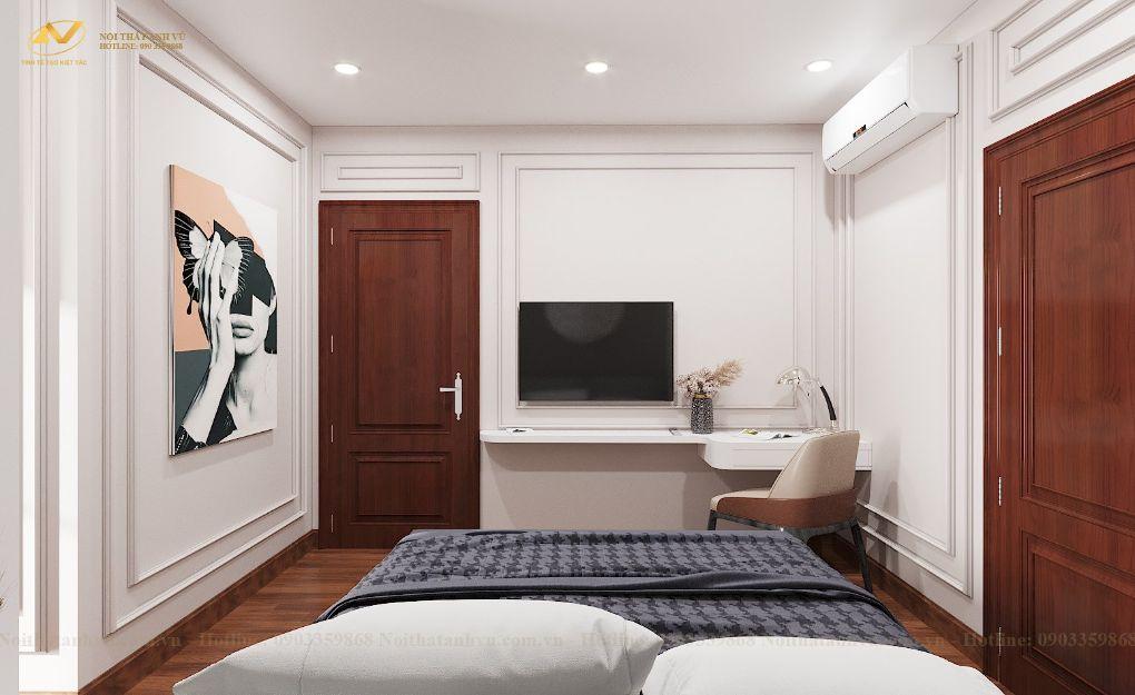 Thiết kế nội thất chung cư Mr Việt – Trung Kính 5