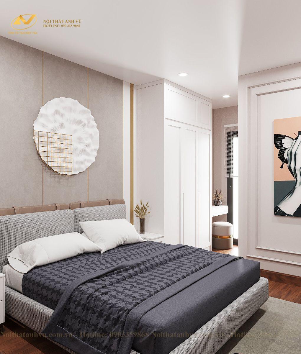 Thiết kế nội thất chung cư Mr Việt – Trung Kính 6